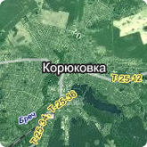 Мапа міста